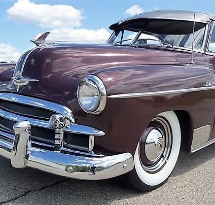 1950 Chevrolet Styleline hardtop resto mod