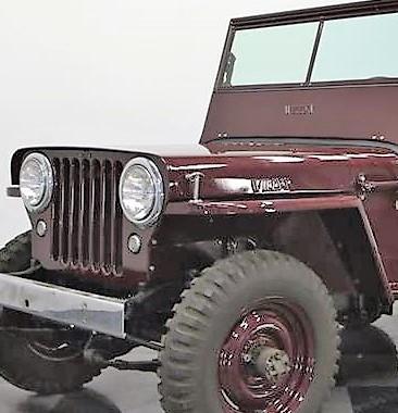 1945 Willys Jeep CJ2A