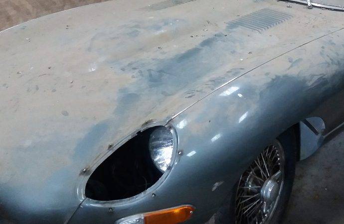 Two more 'barn-find' Jaguar E-Types coming to auction
