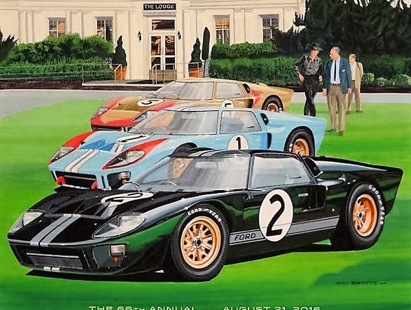 Pebble Beach Concours unveils official event posters