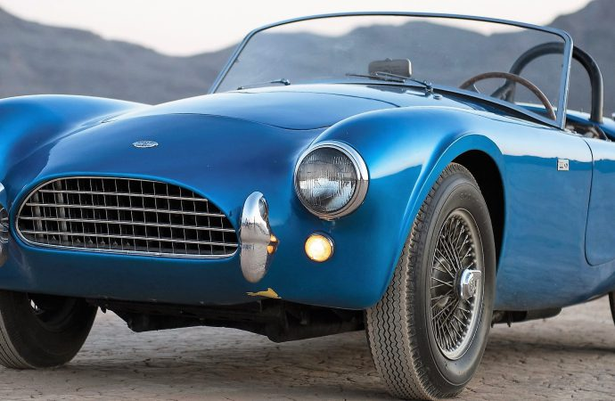 Carroll Shelby's first Cobra to be offered at RM Sotheby's auction