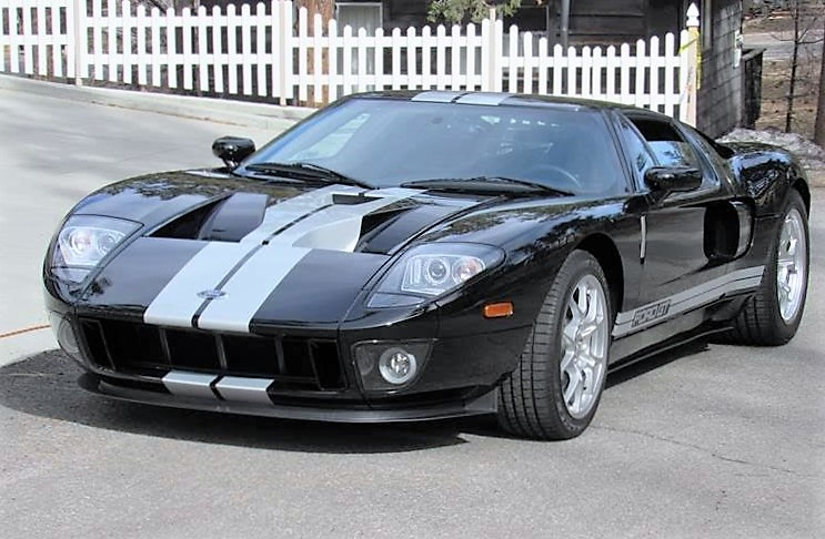 The 2006 Ford GT has been driven just 2,400 miles