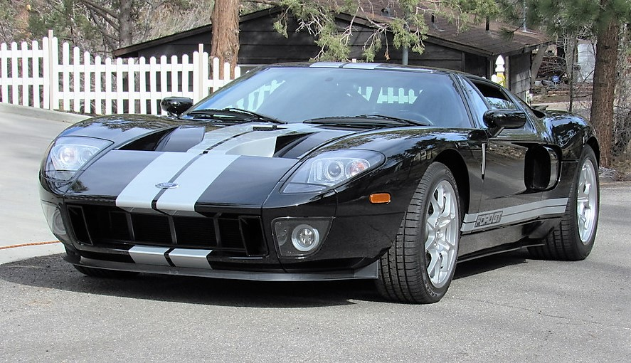 A 2006 Ford GT scored the highest sale