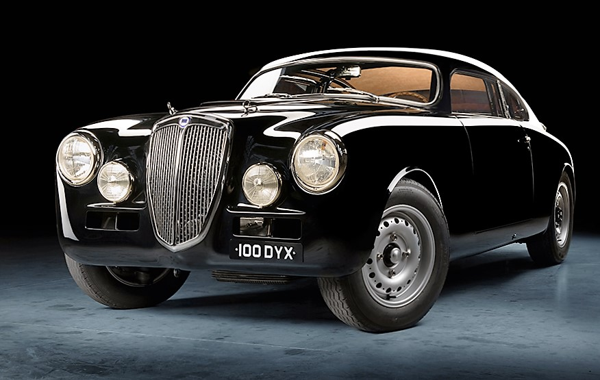 "A 1957 Lancia Aurelia B20 ""Outlaw"" Coupe modified in the style of a champion 1951 race car 