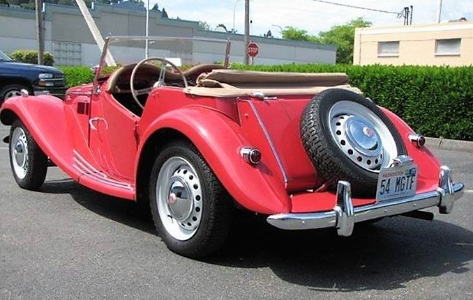 The TF was the last MG with classic British roadster features