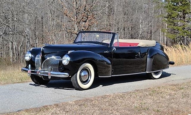 The 1941 Lincoln Continental was designed after Edsel Ford's custom car