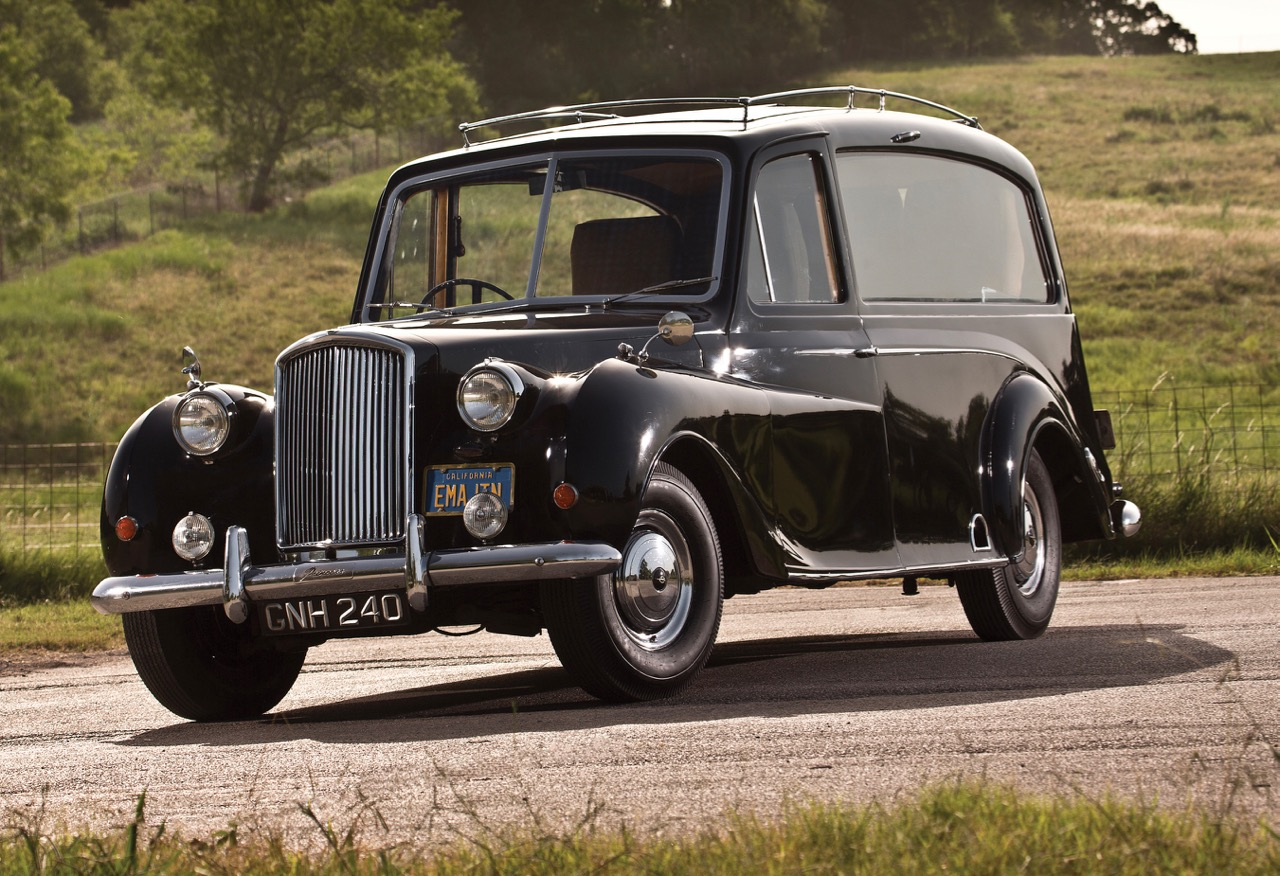 John Lennon owned and customized this 1956 Austin Princess | RM Sotheby's photos by Stephen Kim
