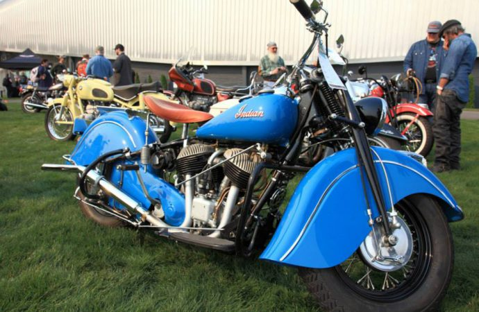 LeMay hosts motorcycles during 'The Meet'