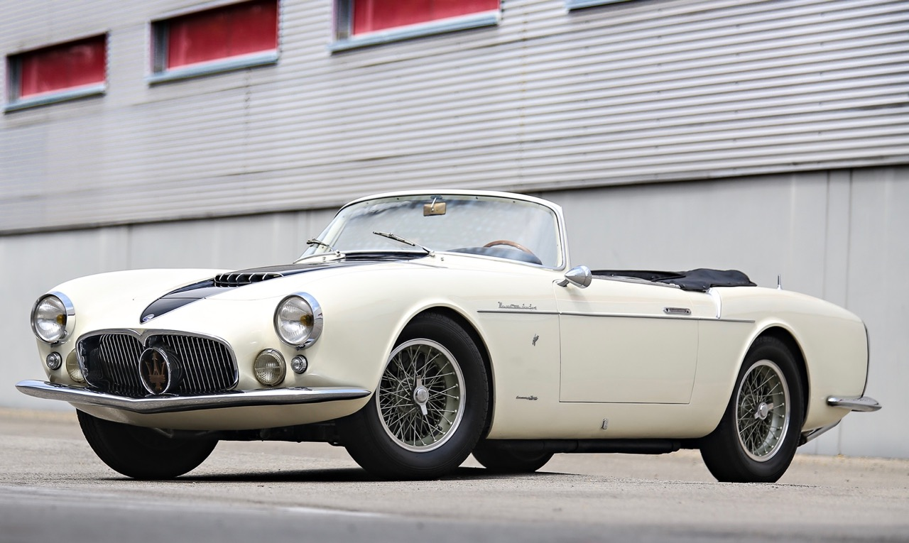 1957 A6G/54 Spider among a large group of Maseratis on the docket for Gooding & Co.'s Pebble Beach auction next month | Gooding photo (Mathieu Heurtault)