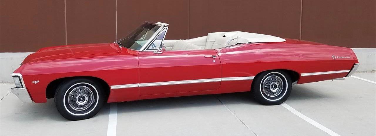1967 Chevrolet Impala convertible | ClassicCars.com photo