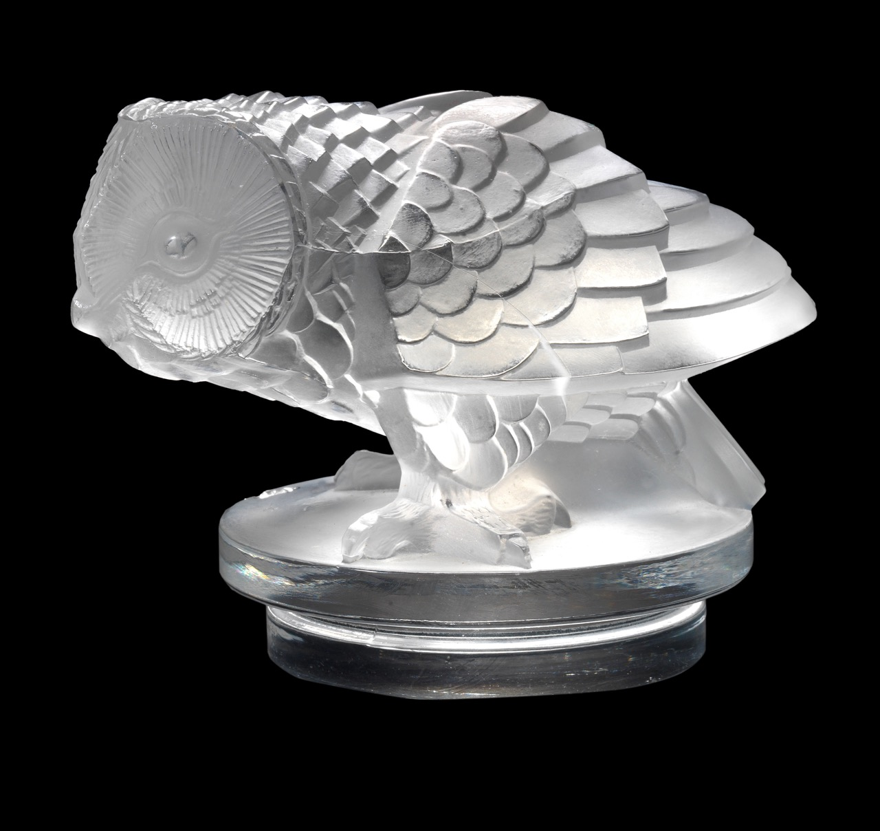 Hibou by Lalique expected to bring as much as $85,300 for charity | Bonhams photos