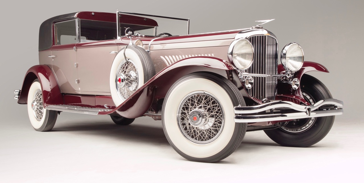 1930 Duesenberg Model J has spent time at Imperial Palace and Blackhawk collections | Bonhams photos