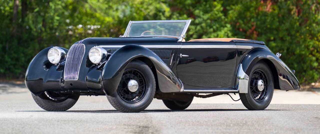 1938 Talbot T23 4-liter has fascinating history