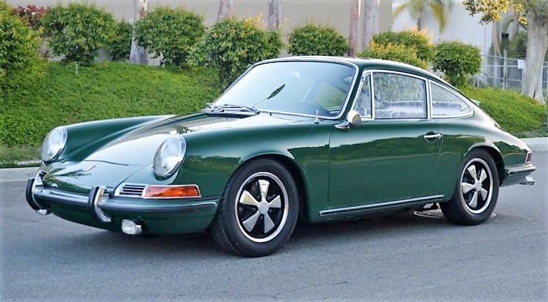 A 1967 Porsche 911 S originally owned by a German driving ace