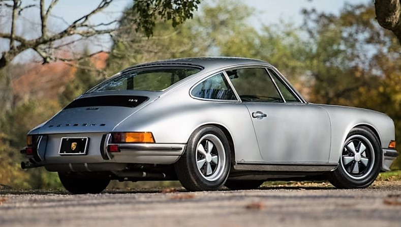 A 1973 911S from the pre-smog-control era