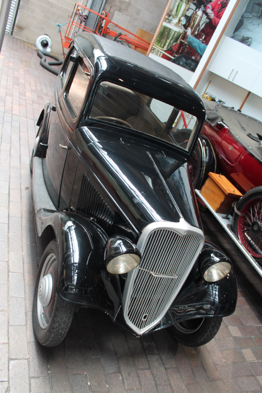 1935 Datsun 14 goes on display at Beaulieu museum in England | Museum photos