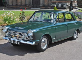 Mile-a-day 1963 'Green Goddess' Cortina headed to auction