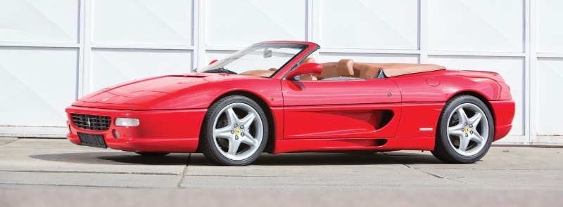 1998 Ferrari F355 Spider tops the initial ratings with a score of 98 | Hagerty/RM Sotheby's photo