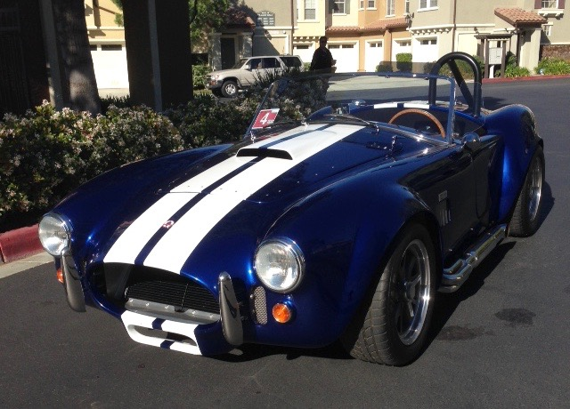 Factory Five Roadster looks like a Shelby, but has fiberglass body | Jim Morris photos