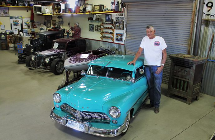 Ernie Adams has a big passion for building little cars