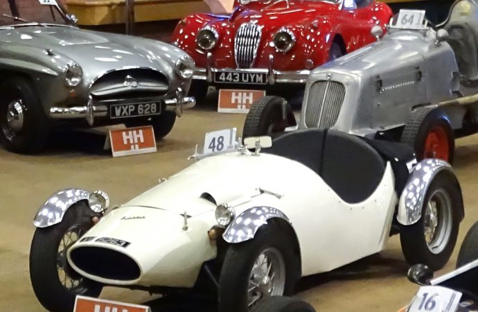 Costin Nathan racer project sells for triple pre-auction estimate