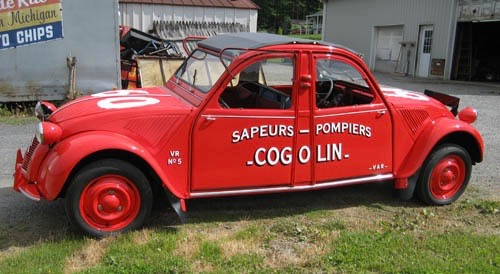 1952 Citroen Cogolin can be driven from either end