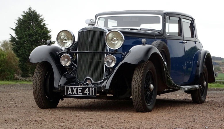 1933 Sunbeam Sports Coupe brings $45,200