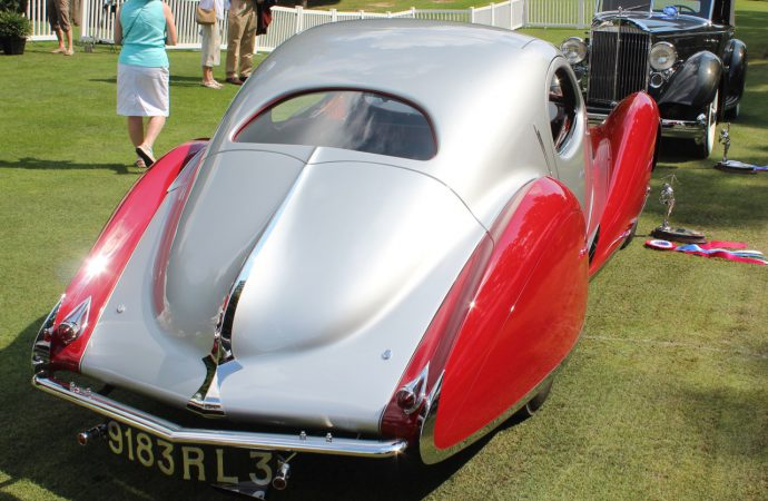 Classic Packard, Talbot-Lago chosen Best of Show at St. John's