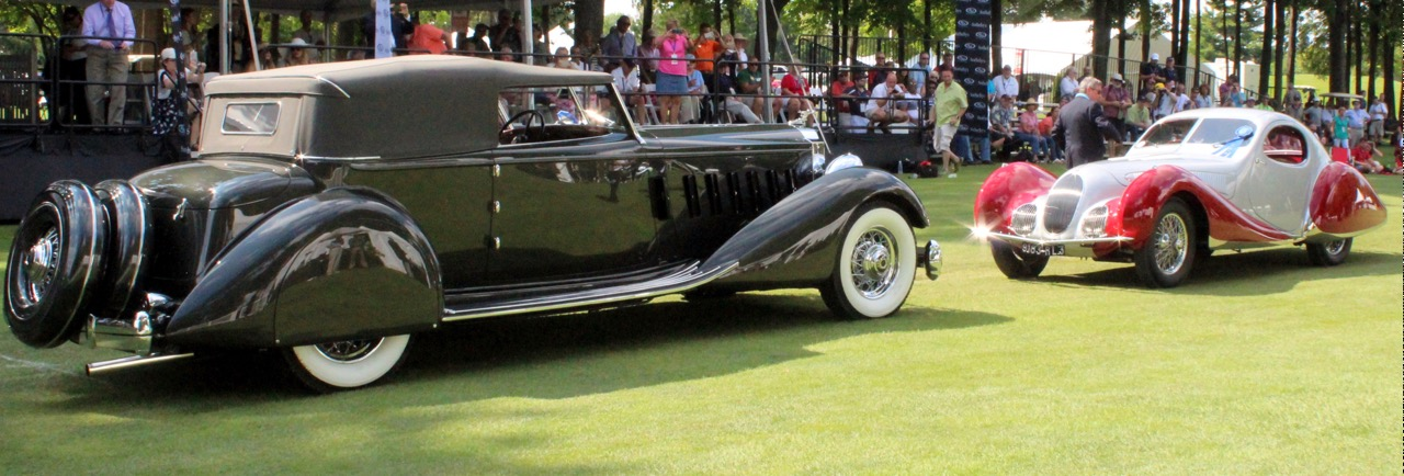 1934 Packard and 1937 Talbot-Lago take Best of Show honors at St. John's | Kevin Wilson photos