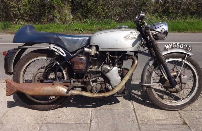 Velocette Thruxton sets record at H&H Classics Donington sale
