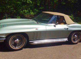 My Classic Car: Joel's 1966 Chevrolet Corvette