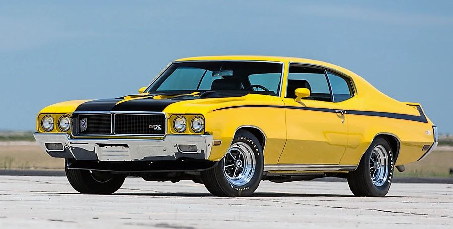 The 1970 Buick GSX is a multiple award winner
