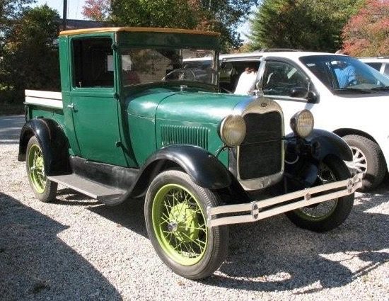 Eugene finished the restoration and reassembly of this 1929 Ford truck | Eugene Buckner photos
