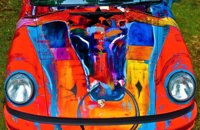 Colorful Porsche 911 'art cars' to grace Russo and Steele auction