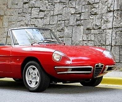 1967 Alfa Romeo 1600 Spider 'Duetto'