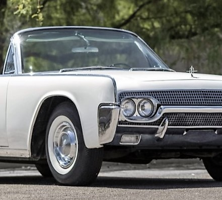 Jackie Kennedy's '61 Lincoln convertible set for Mecum auction
