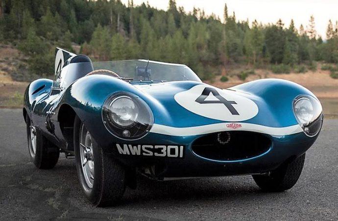 Le Mans-winning Jaguar D-type headlines RM Sotheby's auction