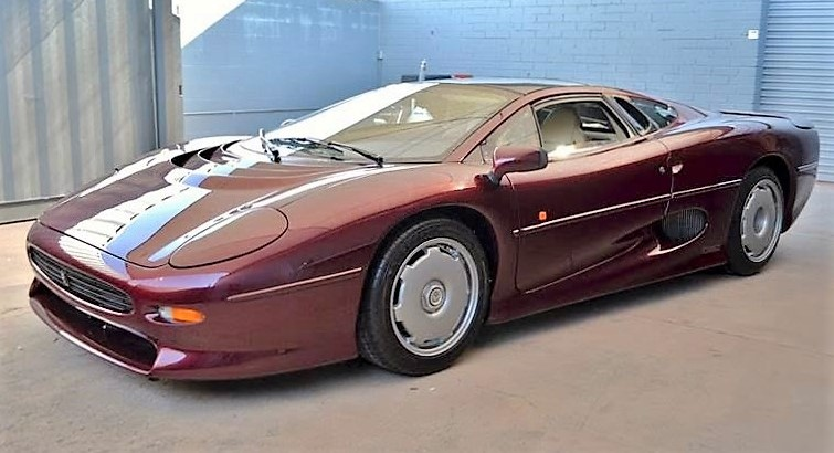 The mid-engine Jaguar XJ220 was once the world's fastest production car | Russo and Steele photos