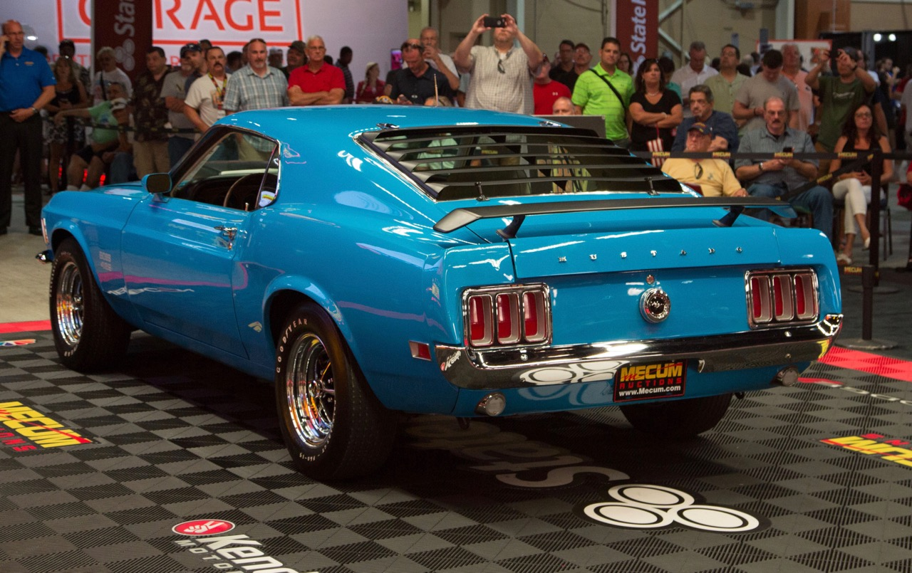 1970 Boss 429 Ford Mustang tops all sellers at $220,000