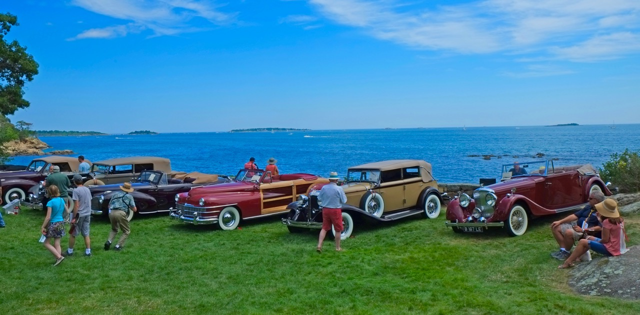 The stunning vista at the Misselwood Concoudrs d'Elegance | Andy Reid photos