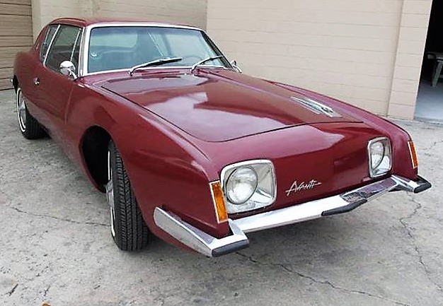 Styled under the direction of the great Raymond Lowey, the Studebaker Avanti was a unique looking car