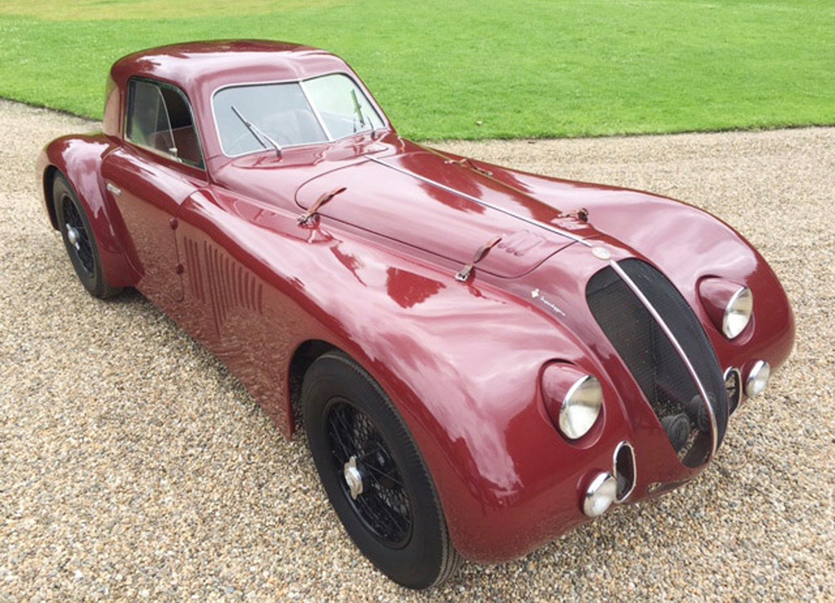 1942 Alfa Romeo Le Mans Berlinetta among cars on the Schloss Dyck auction | Coys photo