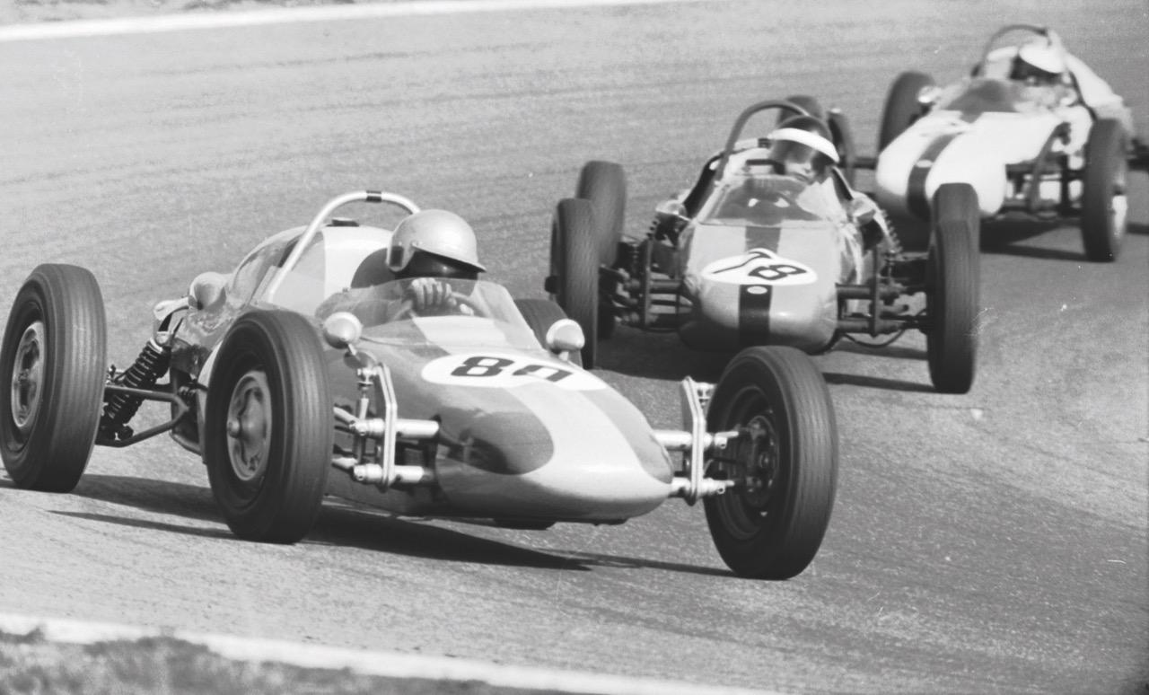 Formula Vee cars racing in 1968 | Volkswagen Motorsports photos