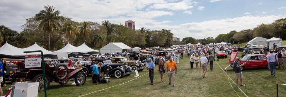Scene at the 10th annual Boca Raton Concours d'Elegance | concours photos