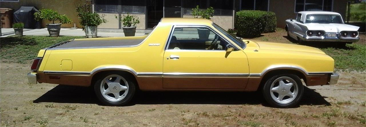 Durango was a short-lived Ford Fairmont Futura-based pickup