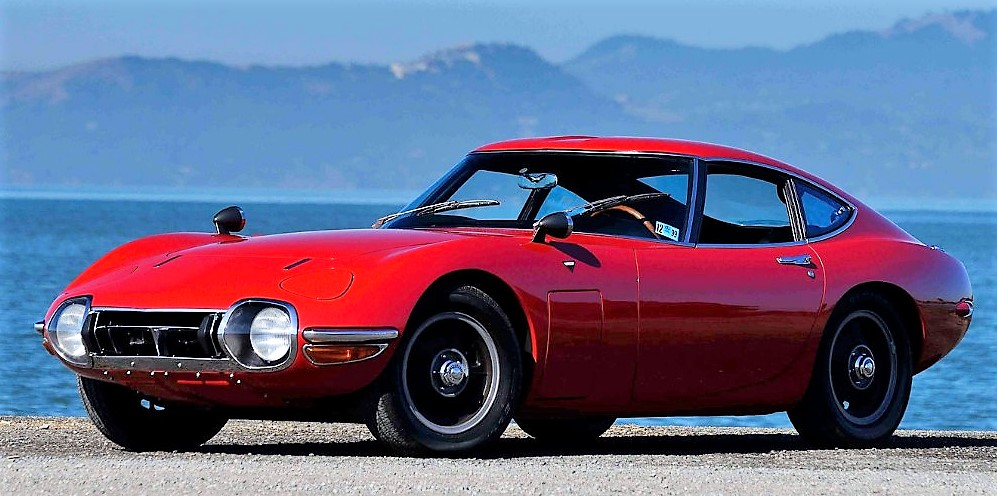 The Mecum auction will offer this 1967 Toyota 2000GT | Mecum Auctions