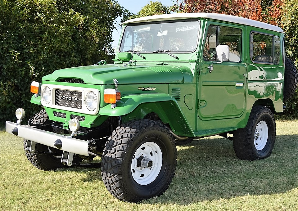 This 1983 Toyota Land Cruiser will be auctioned by Russo and Steele   Russo and Steele