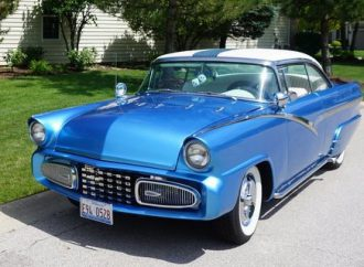 My Classic Car: Dan's 1956 Ford Victoria custom