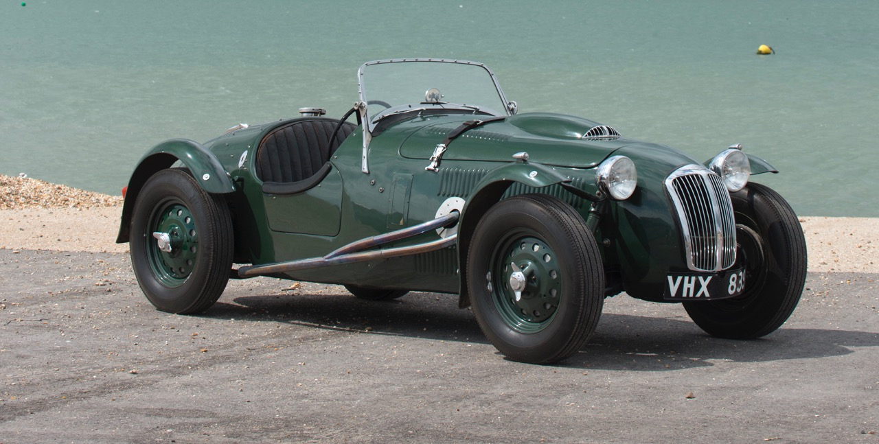 Roy Salvadori raced, crashed and raced again in this 1951 Frazer-Nash Replica | Bonhams photos