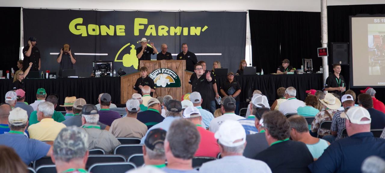 Bidding underway at Gone Farmin' auction